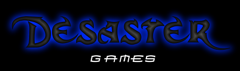 Desaster Games - 2. Logo